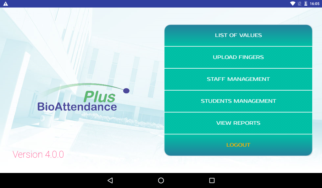 , Campus Attendance Management System (CAMS)